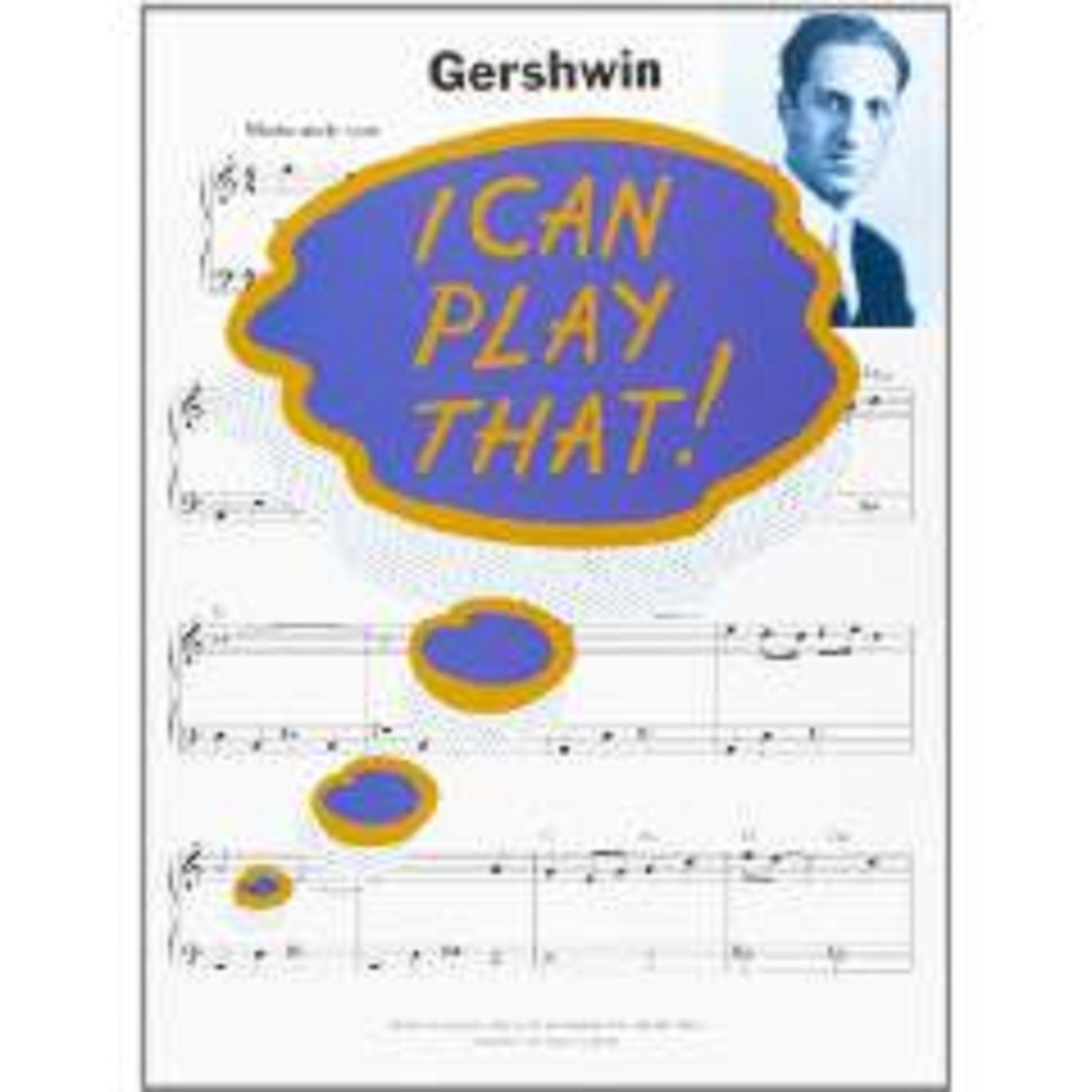 I Can Play That! Gershwin Very Easy Piano Sheet Music Grade 1-3 Book S20