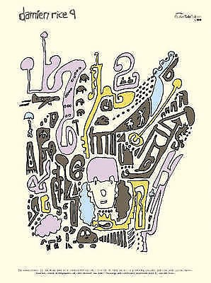 Damien Rice 9 Guitar TAB Chords Songbook Faber Music S109 B40