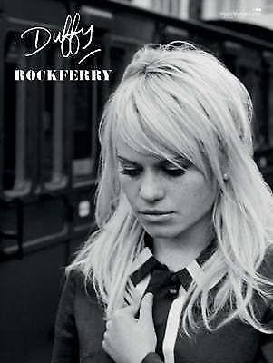 Duffy Rockferry Piano Vocal Sheet Music Songbook Guitar Chord Pop Soul Book B46