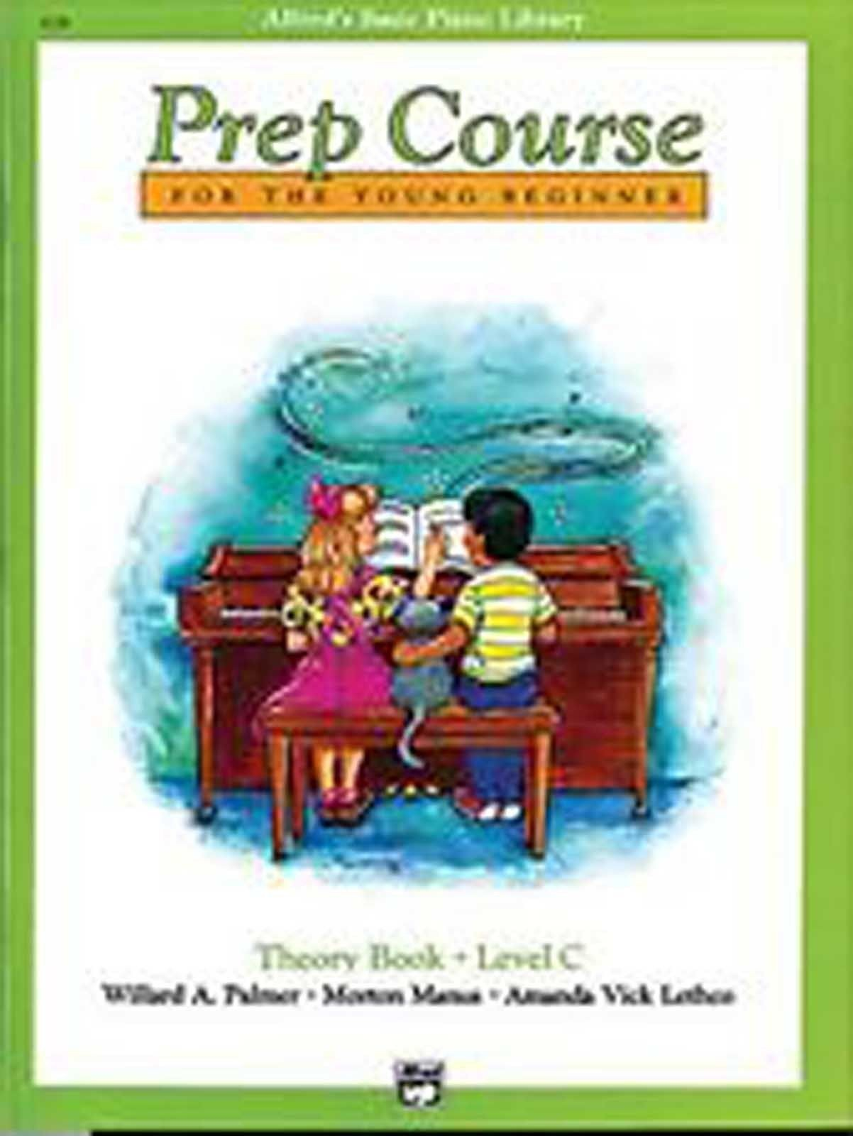 Alfred's Basic Piano Library Prep Course Young Beginner Theory Book Level C B89