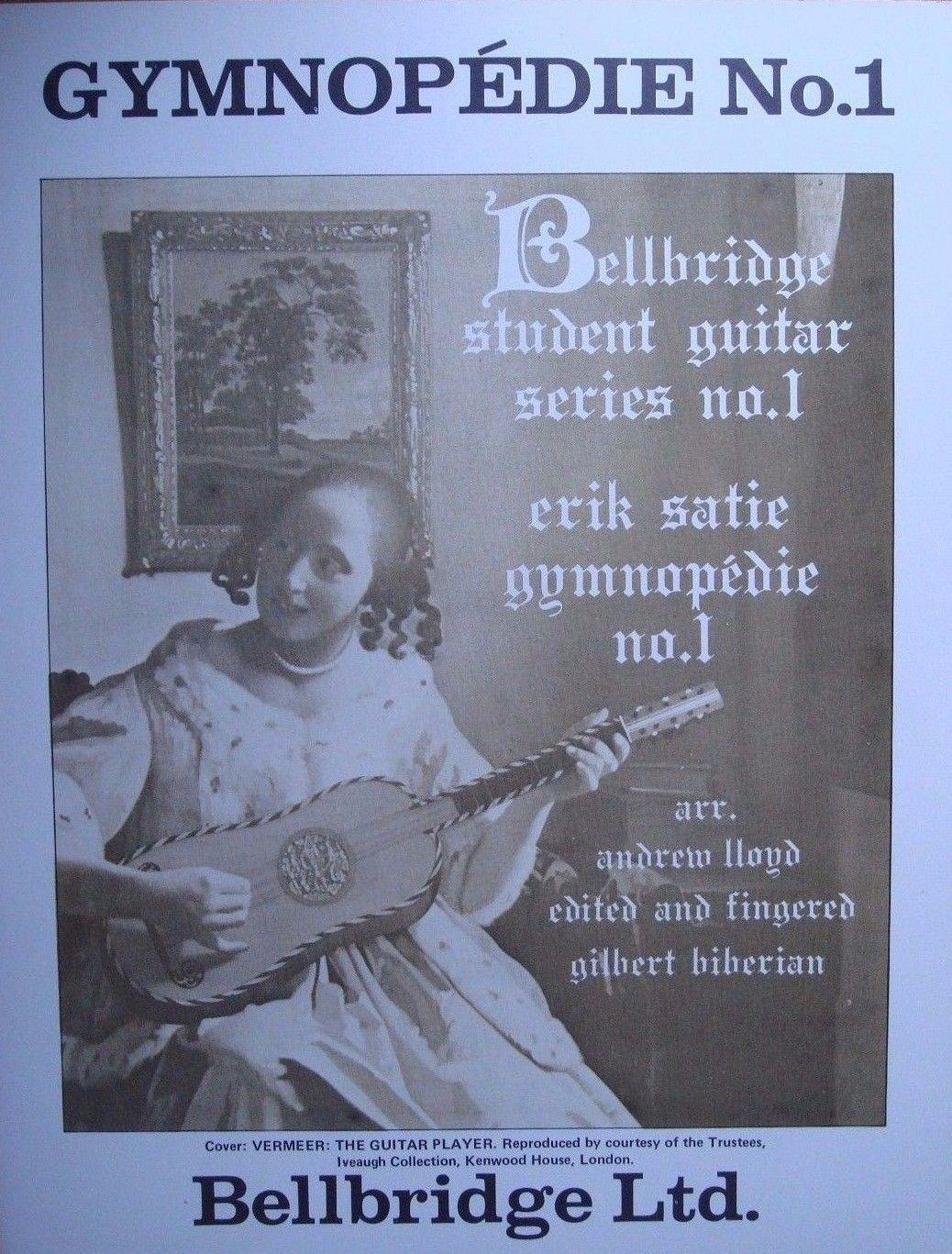Gymnopedie No 1 Classical Guitar Solo Music Erik Satie Book S100