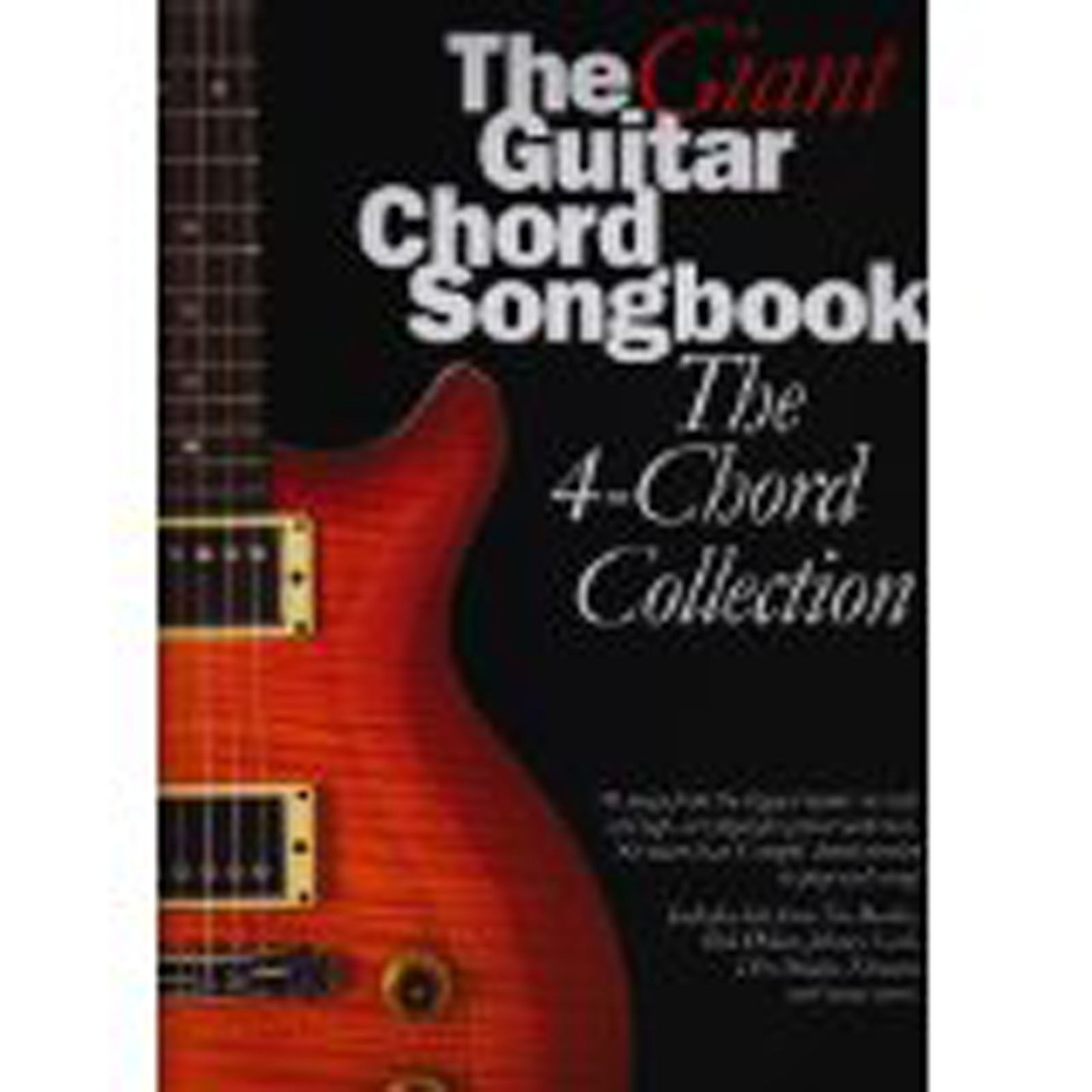 Giant Guitar Chord Songbook 4-Chord Collection Classic Sheet Music Book B59 S57