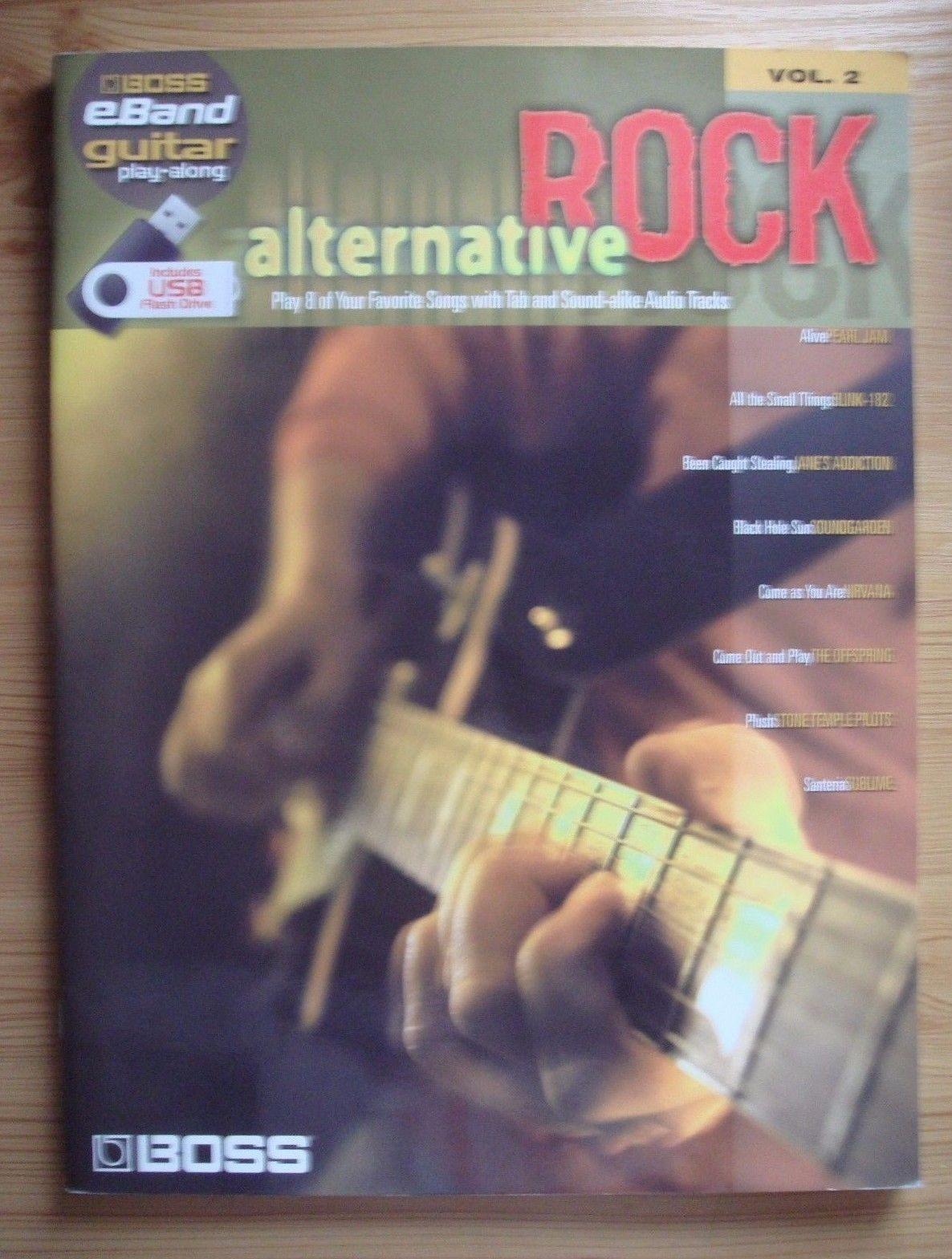 Boss eBand Guitar Play-Along Alternative Rock Vol 2 Book Only Hal Leonard B43