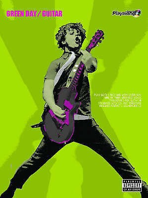Green Day Authentic Guitar Playalong Book CD TAB Sheet Music Greatest Hits B80