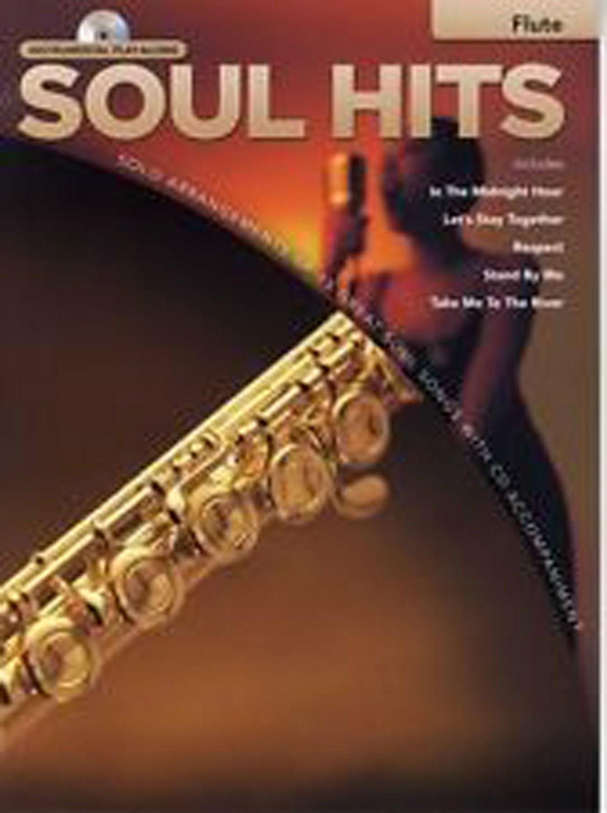 Hal Leonard Instrumental Play-Along Soul Hits Flute Book & CD B42