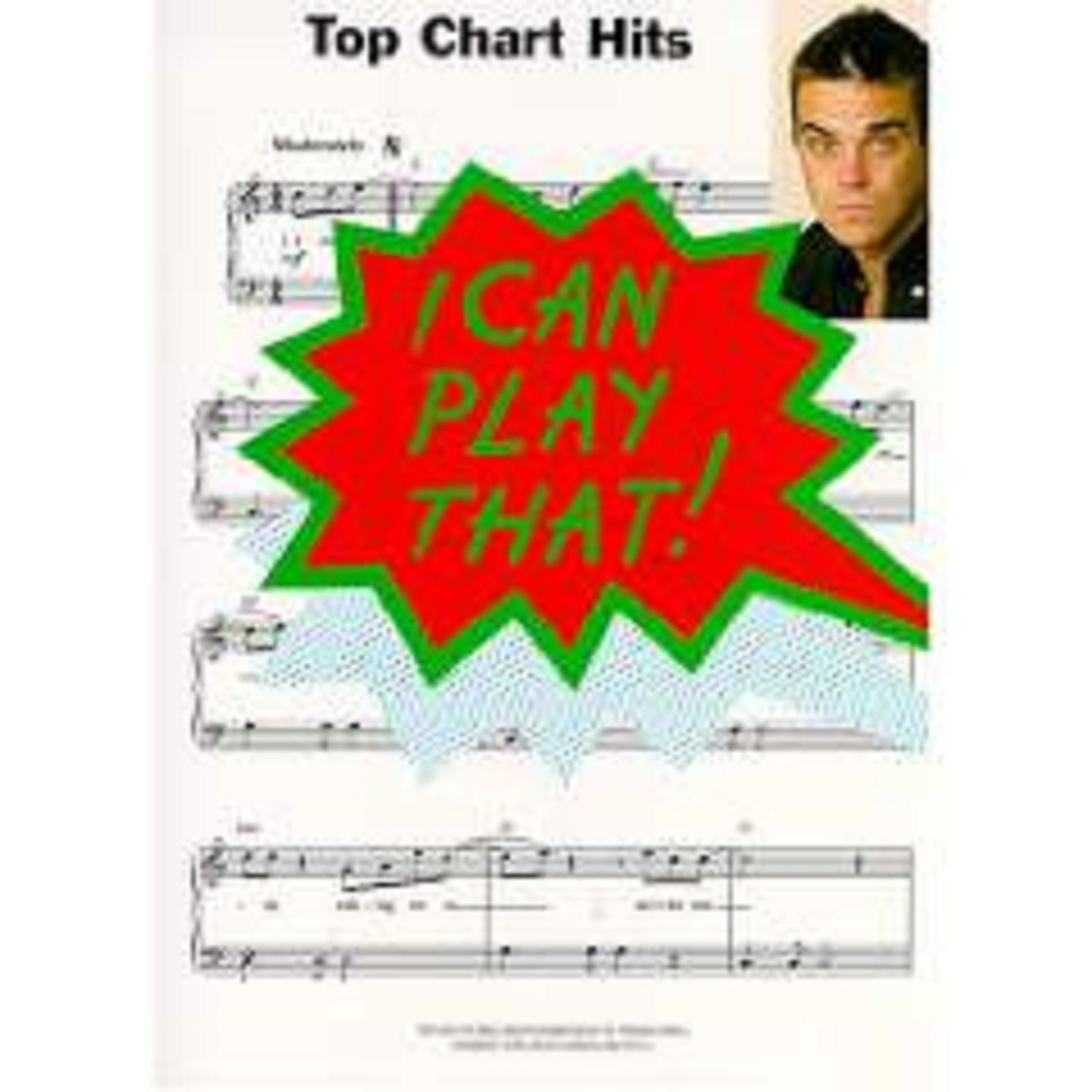 I Can Play That Top Chart Hits Easy Piano Sheet Music Songbook Nineties S10