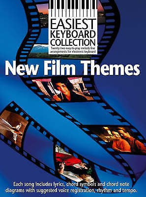 Easiest Keyboard Collection New Film Themes Movie Tracks Electronic Book B23