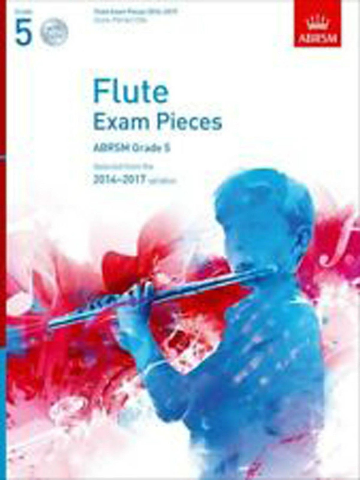 Flute Exam Pieces 2014-2017 Grade 5 Syllabus Sheet Music ABRSM CD B25