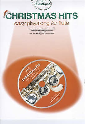 Junior Guest Spot Christmas Hits Easy Playalong Flute Book CD B25