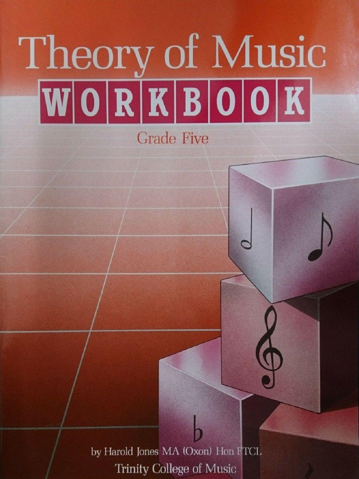 Theory Of Music Workbook Grade 5 Trinity College Book S161