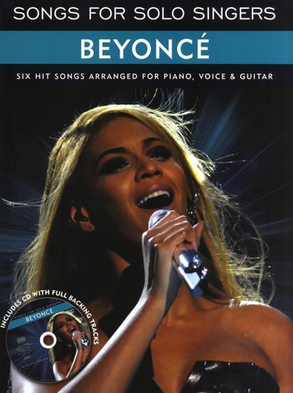 Songs For Solo Singers Beyonce Book Singalong CD B29