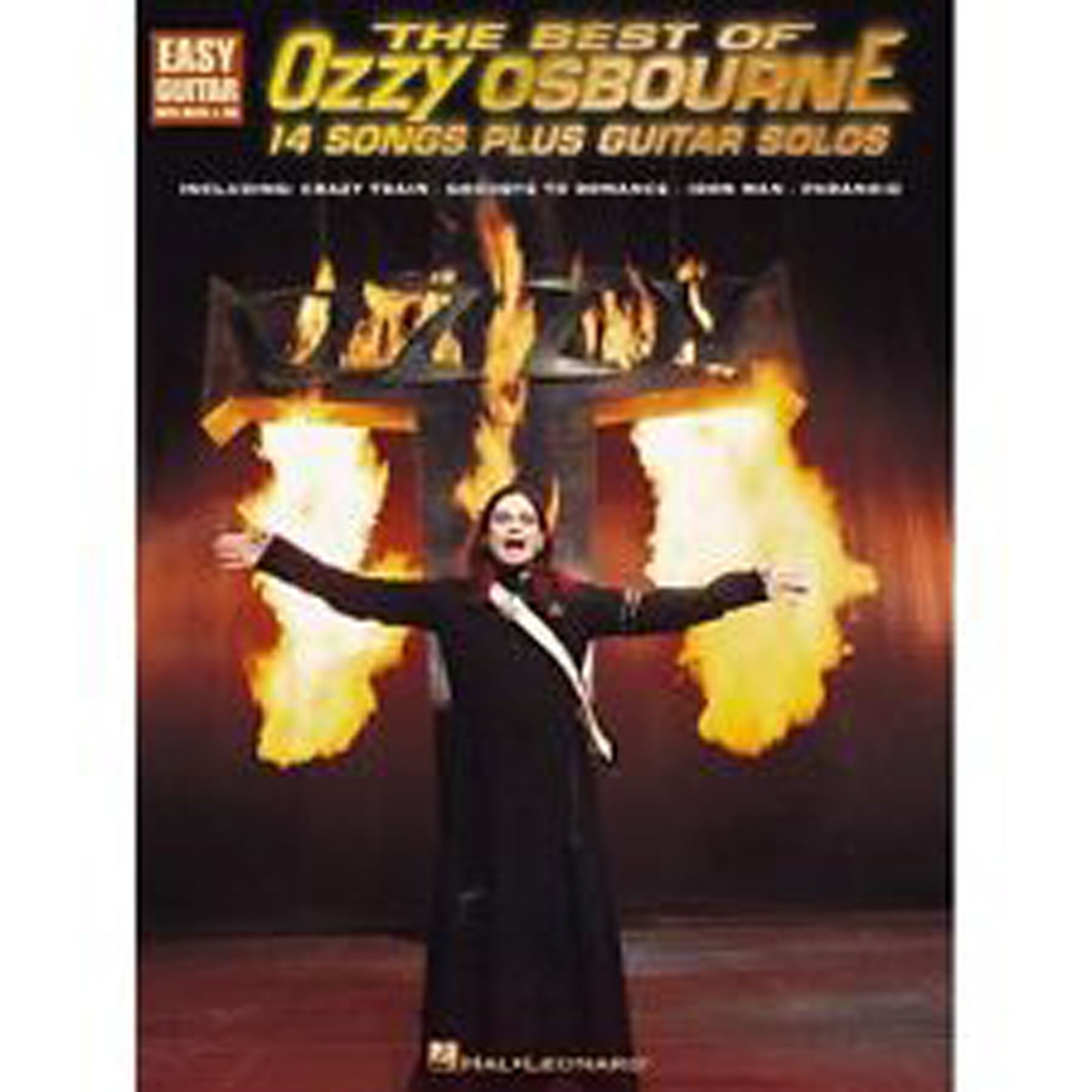 The Best of Ozzy Osbourne 14 Easy Songs Plus Guitar Solos Book B38