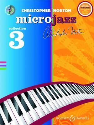 Microjazz Collection 3 Solo Piano Christopher Norton Sheet Music CD Book B50
