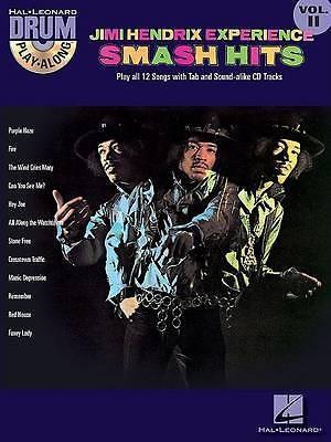 Drum Play Along Jimi Hendrix Smash Hits Book CD B59