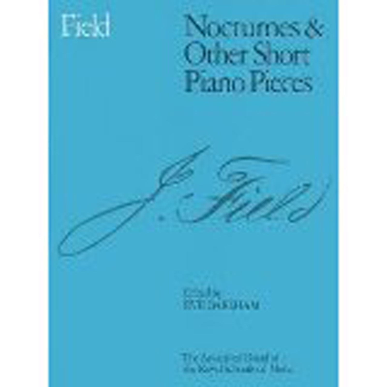 Field Nocturnes & Other Short Piano Pieces Sheet Music Book ABRSM B83