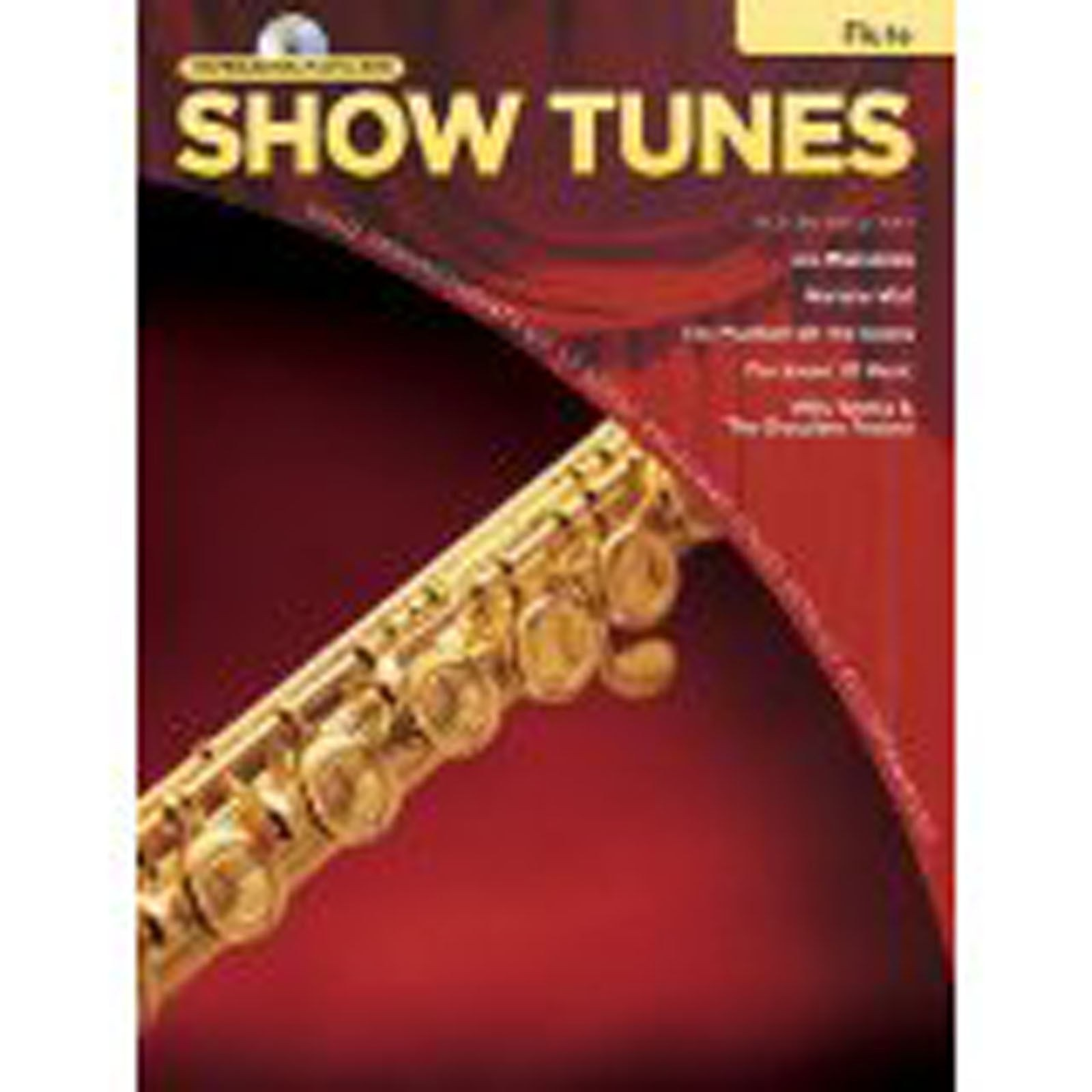 Flute Instrumental Playalong Show Tunes Book CD Easy B49