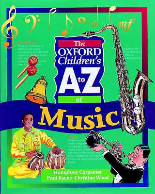 The Oxford Children's A to Z of Music by Christine Excyclopedia Book S16