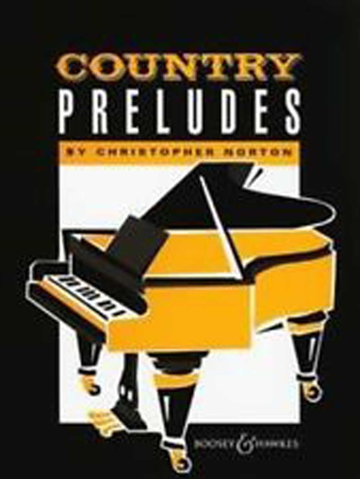 Country Preludes Piano Sheet Music Book Advanced Solo Repertoire Norton S100