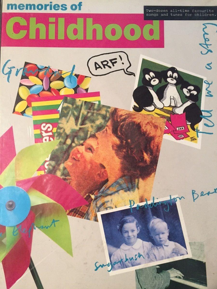 Memories of Childhood Songbook Sheet Music Piano Voice Guitar Lyrics S23
