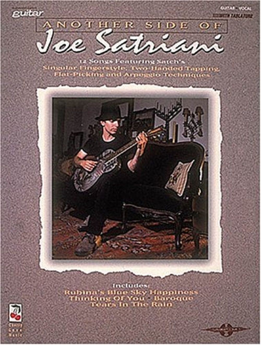 Another Side of Joe Satriani: Guitar Vocal with Tabs Book 12 Songs S26