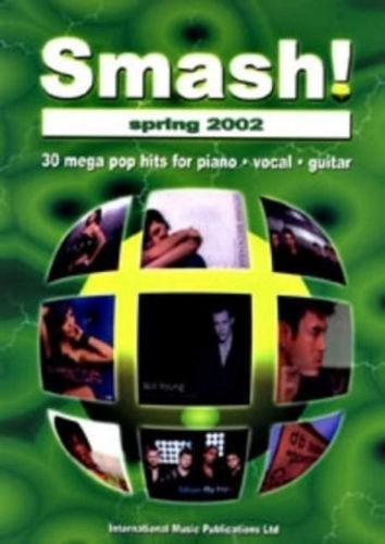 Smash! Spring 2002 Piano Vocal Guitar Tab Sheet Music Book 30 Mega Pop Hits B21