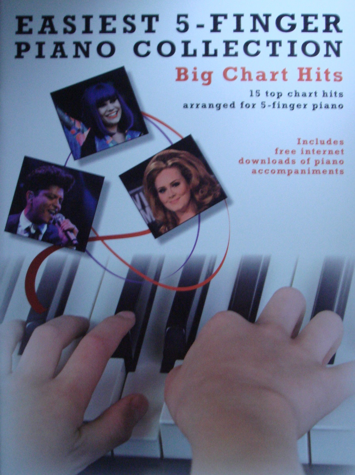 Easiest 5 Finger Piano Collection Big Chart Hits Music Book Beginners Easy B21