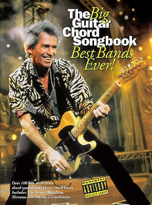 The Big Guitar Chord Songbook Best Bands Ever! Sheet Music OutKast Zeppelin B80