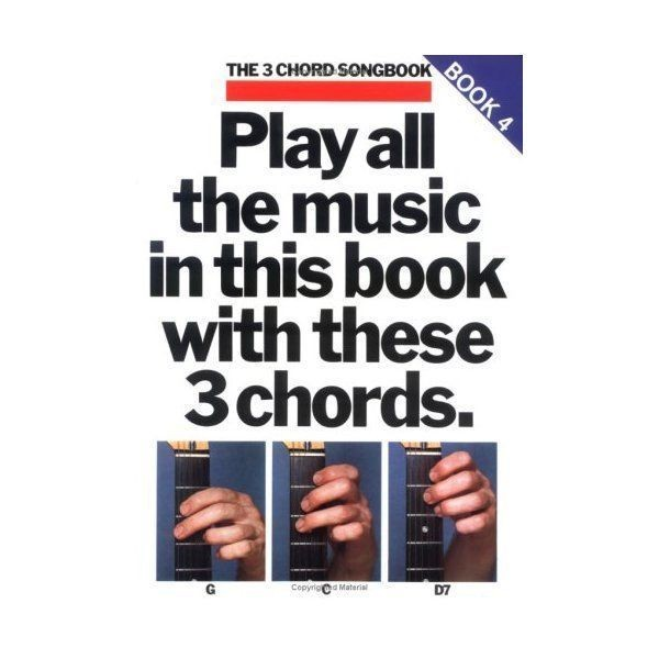 The 3 Chord Songbook Book 4 Guitar Sheet Music Rock Classics Lyrics Chords B59