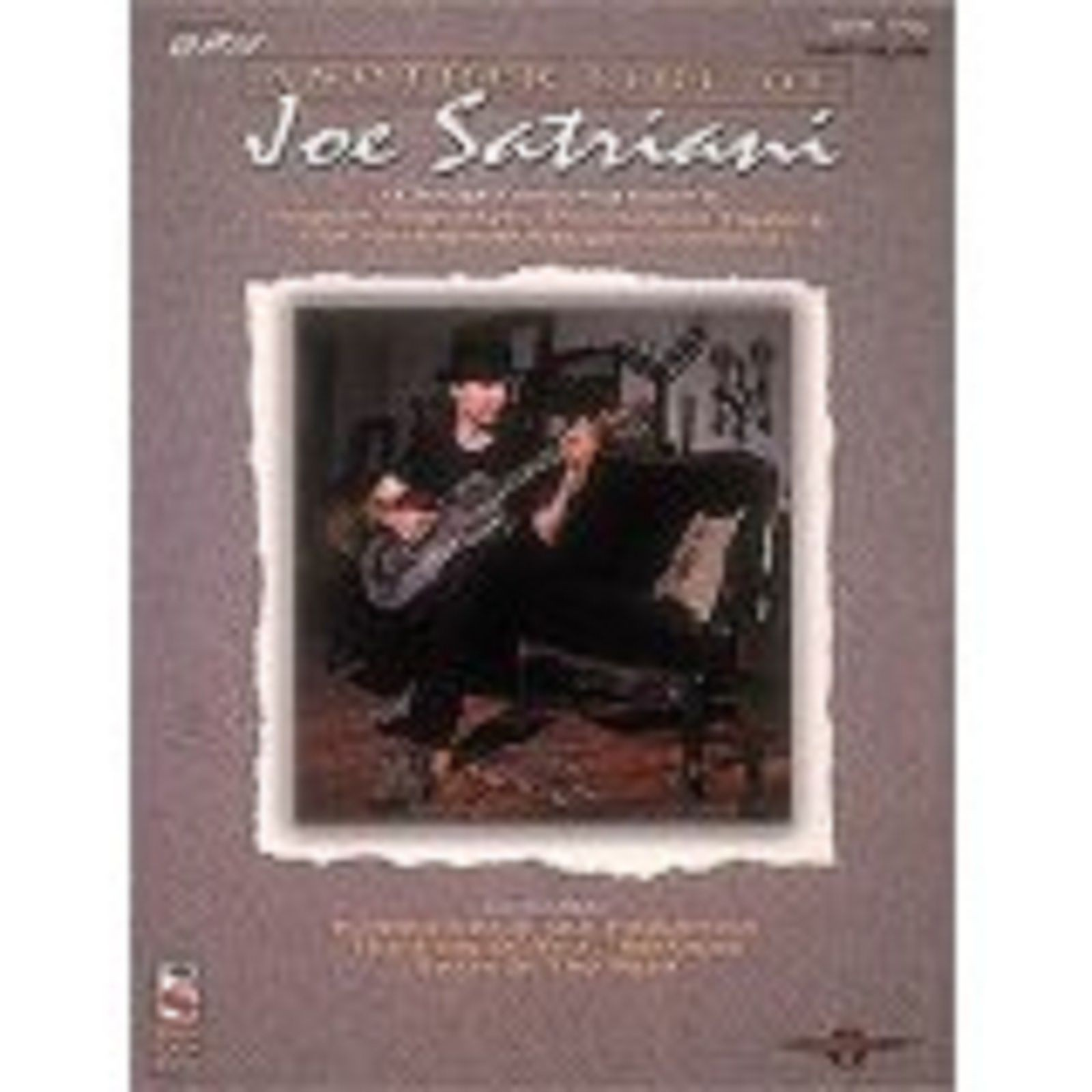 Another Side of Joe Satriani Guitar Vocal Sheet Music Fingerstyle Songbook S25