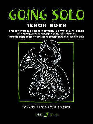 Going Solo Tenor Horn Intermediate Repertoire Sheet Music Book Pieces B63