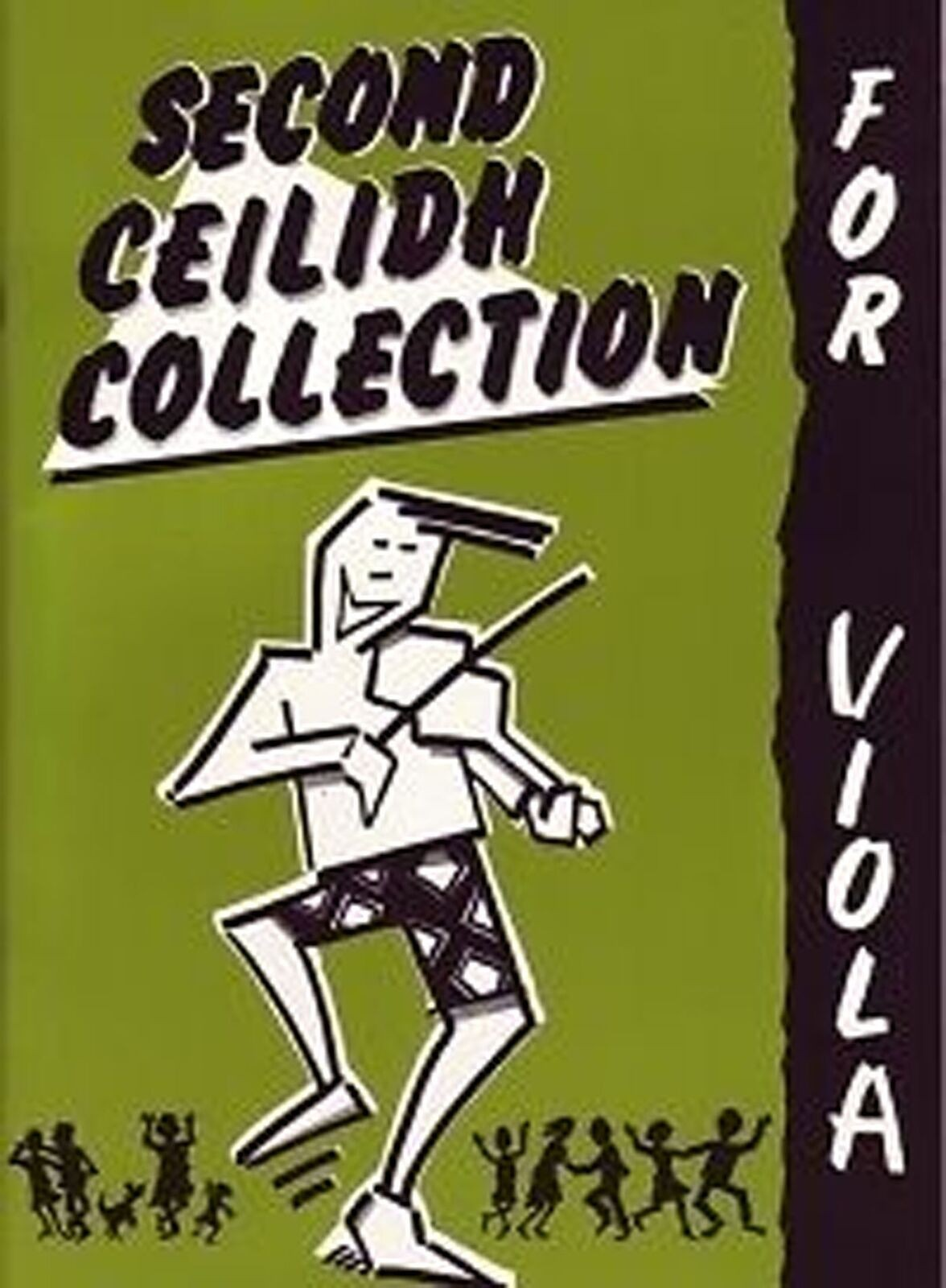 The Second Ceilidh Collection For Viola Music Book Scottish Fiddle S148