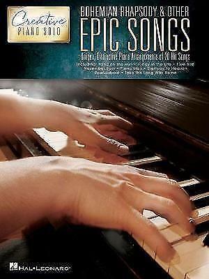 Creative Piano Solo Bohemian Rhapsody & Other Epic Songs Sheet Music Book S31