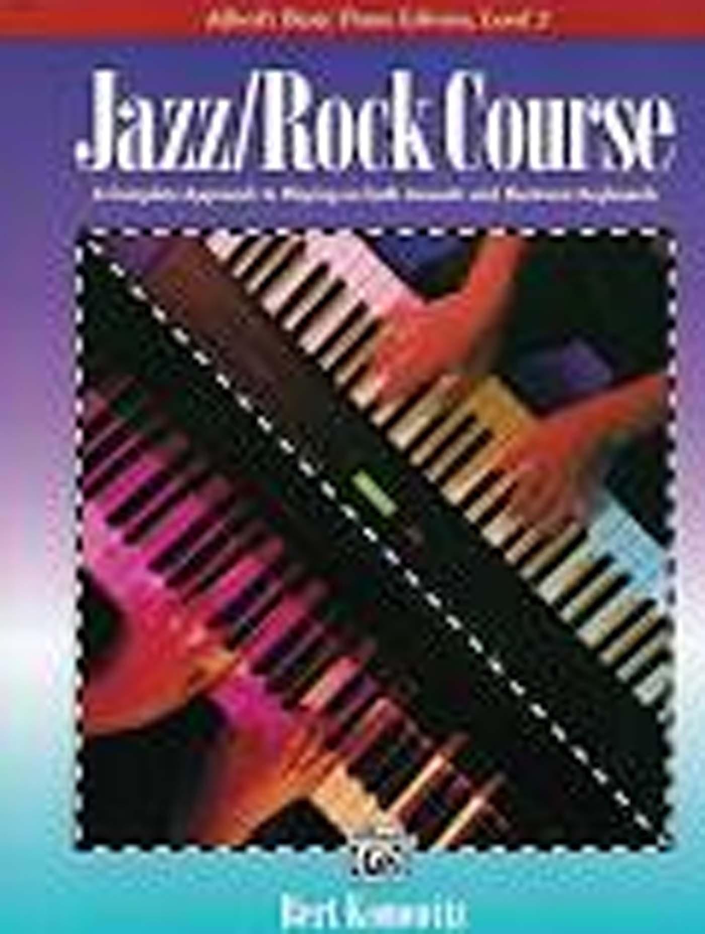 Alfred's Basic Piano Library Level 2 Book Jazz / Rock Course Bert Konowitz S98