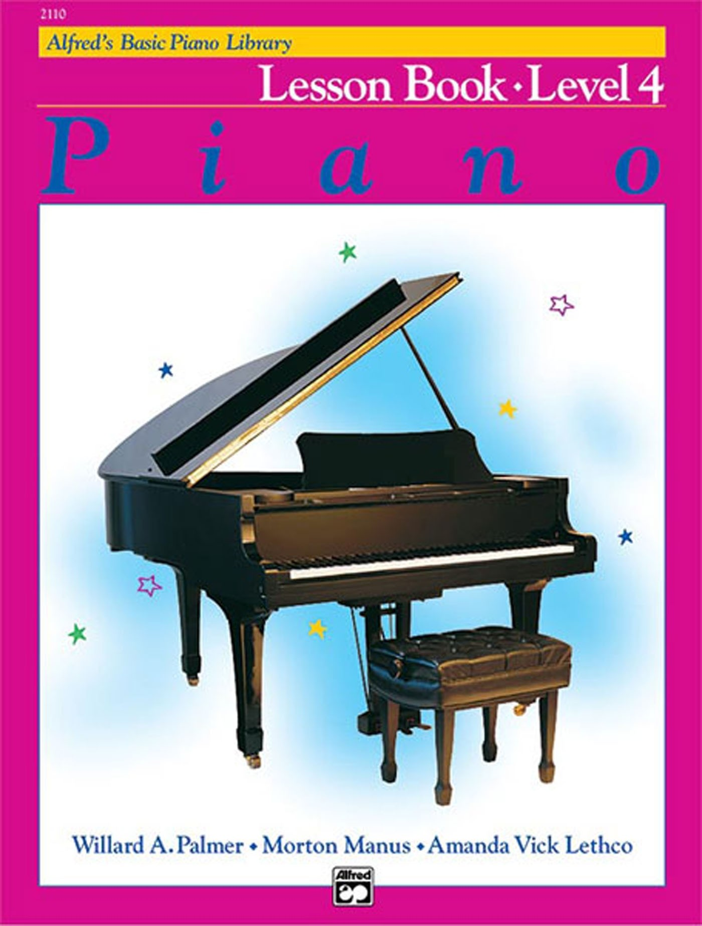 Alfred's Basic Piano Library Lesson Book Level 4 Beginner Progressive S147