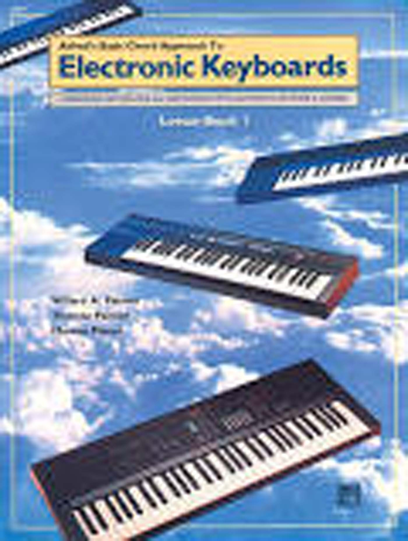 Alfred's Basic Chord Approach To Electronic Keyboards Lesson Book 1 Beginner S98