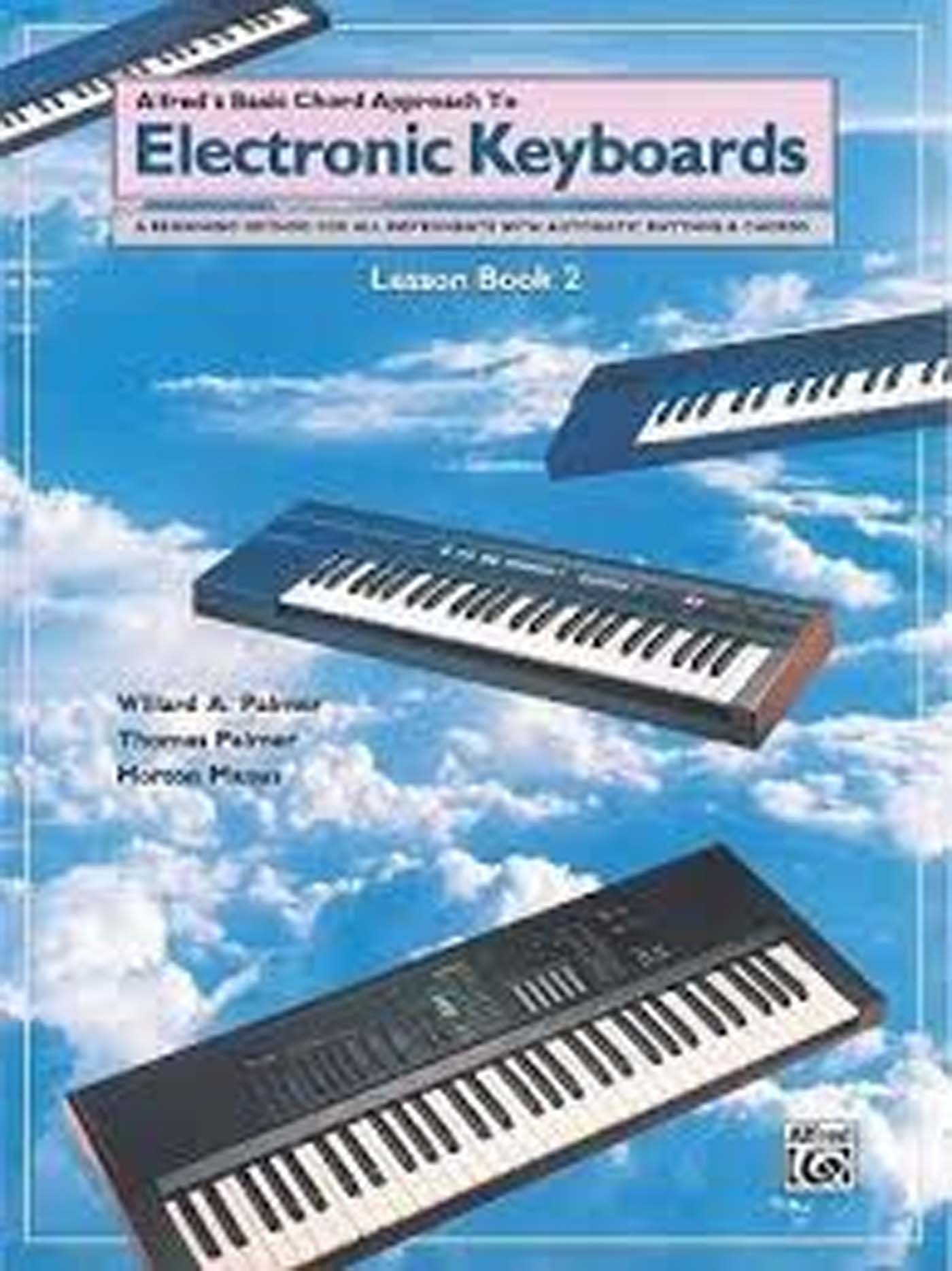 Alfred's Basic Chord Approach To Electronic Keyboards Lesson Book 2 Beginner S98