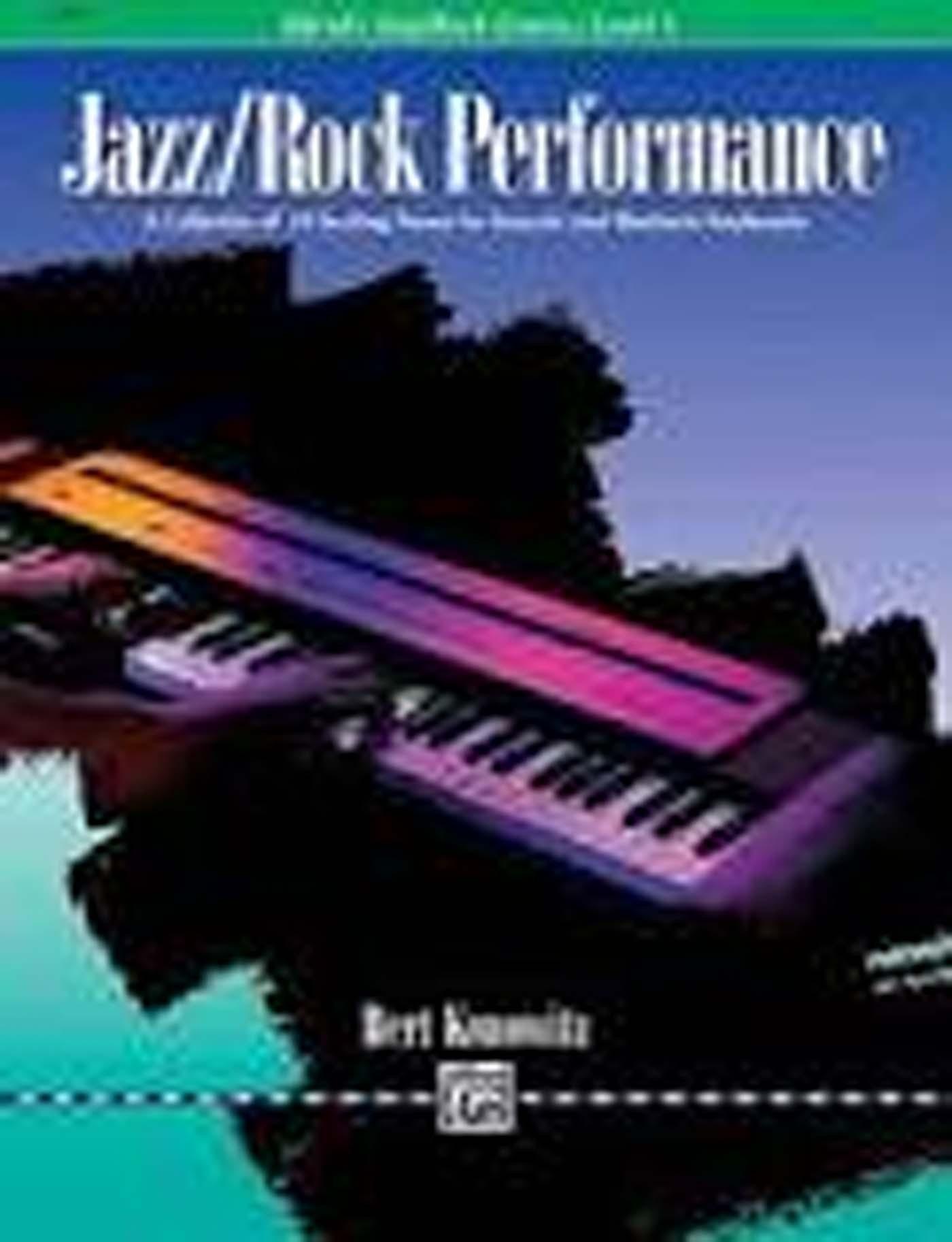 Alfred's Basic Piano Library Level 1 Book Jazz / Rock Performance Konowitz S98
