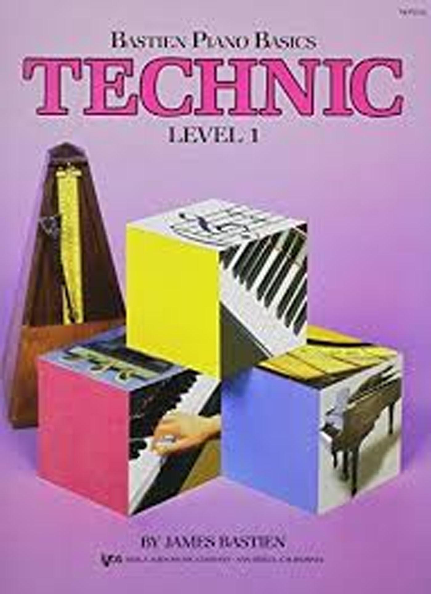 Bastien Piano Basics Technic Level I WP216 Book S141
