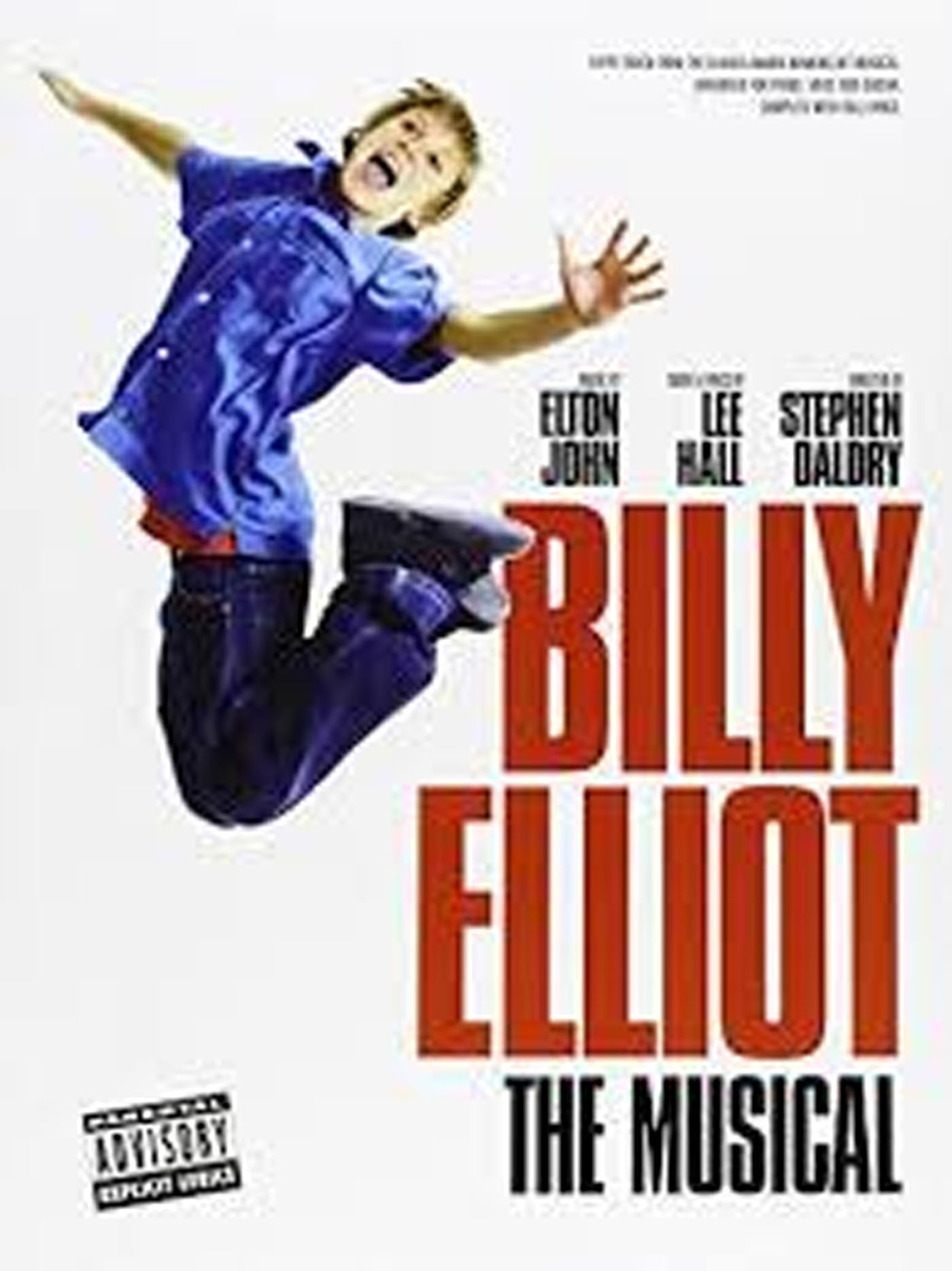 Billy Elliot The Musical Book Piano Voice Guitar Songs Tracks Elton John S146