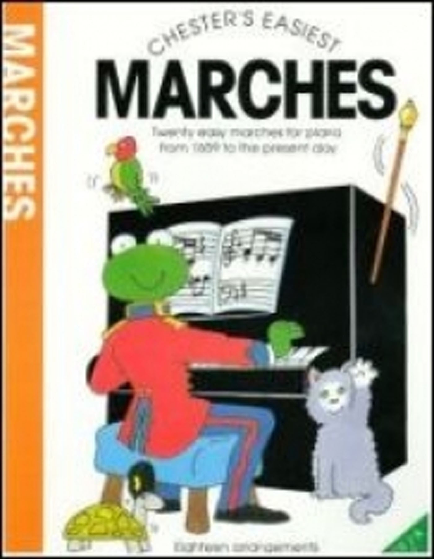 Chester's Easiest Marches Easy Piano Book Carol Barratt S141