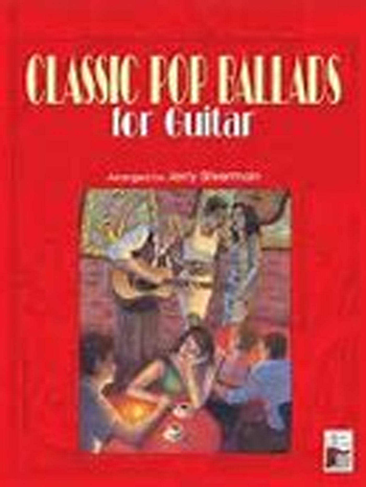 Classic Pop Ballads for Guitar Book Notes Tab Chords Lyrics Jerry Silverman S15