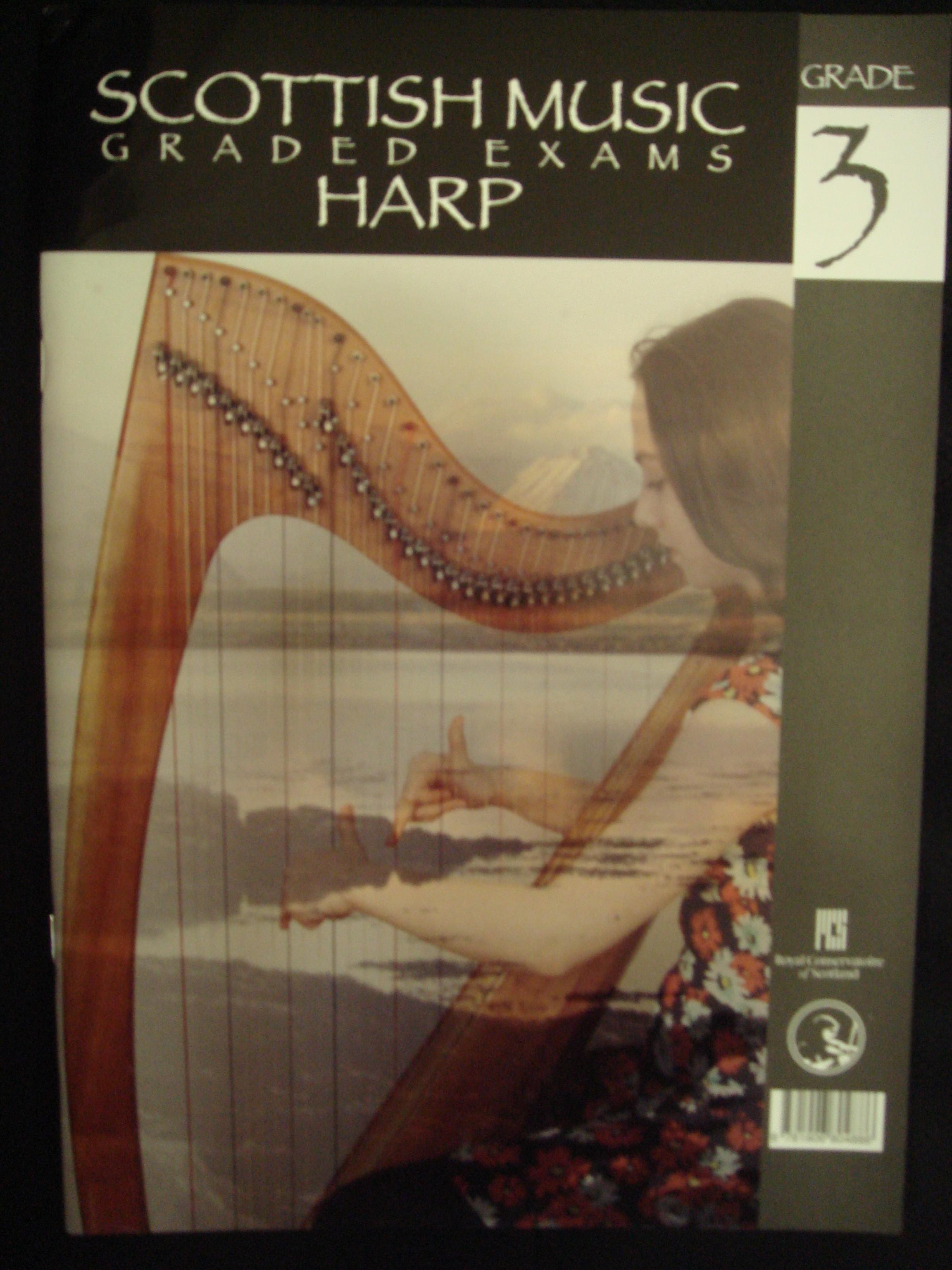 Scottish Music Graded Exams SQA Harp Grade 3 2014-2020 Book S147