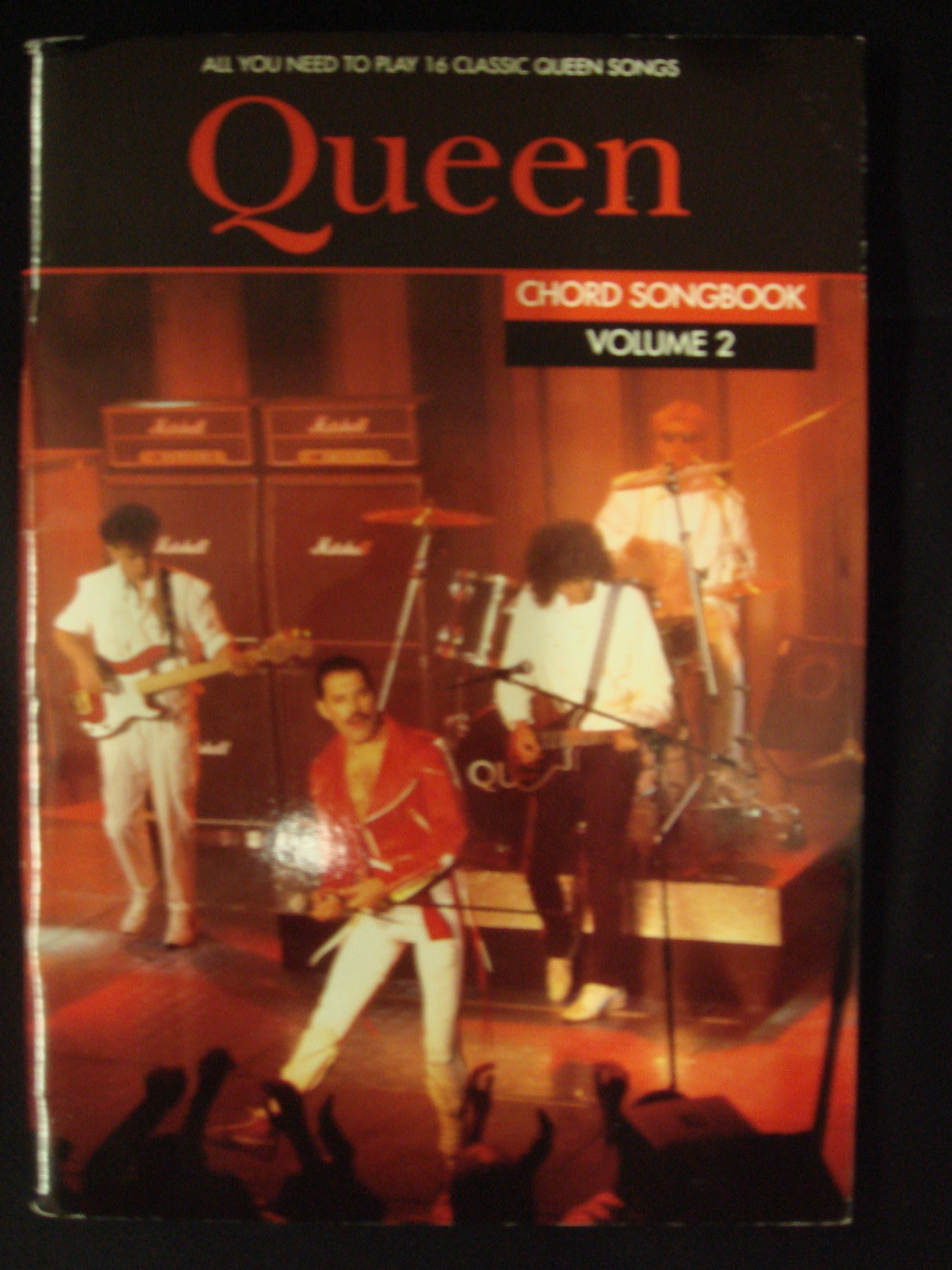 Queen Chord Songbook Volume 2 Complete Classics Songs Lyrics Guitar Chords S148