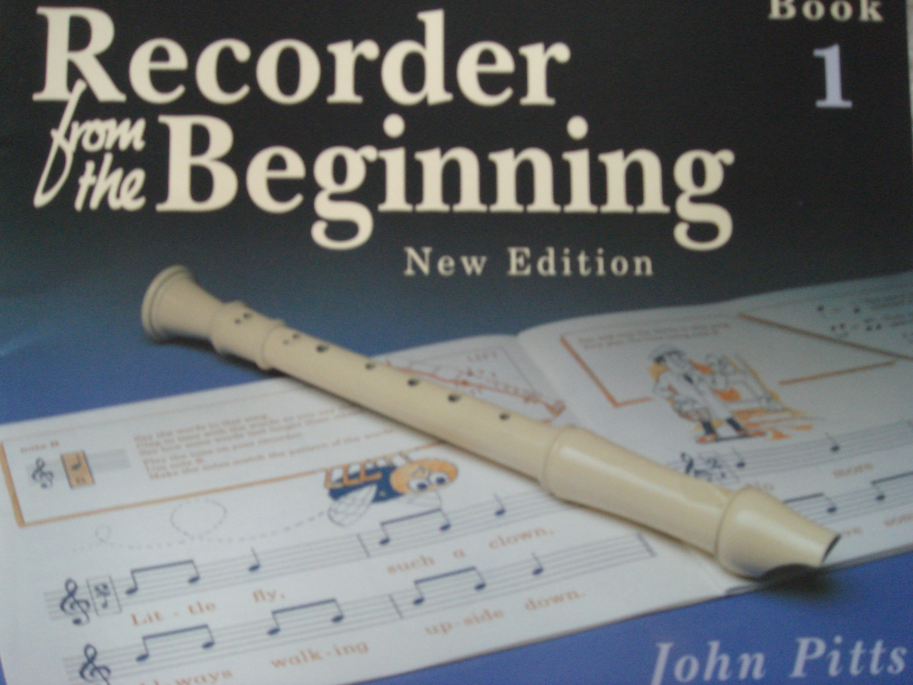 Recorder From The Beginning New Edition Book 1 Pupil's 7-11 Yrs John Pitts S155