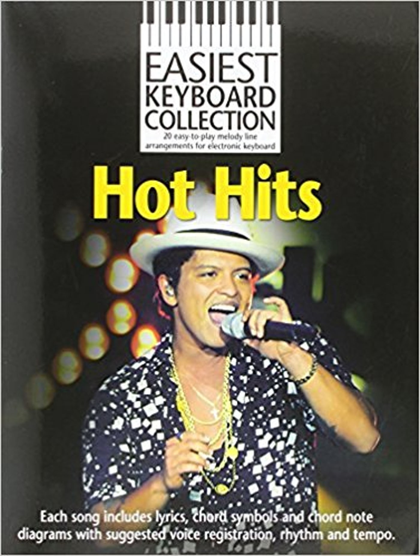 Easiest Keyboard Collection Hot Hits Book Easy Tunes Chords Lyrics Songs S146