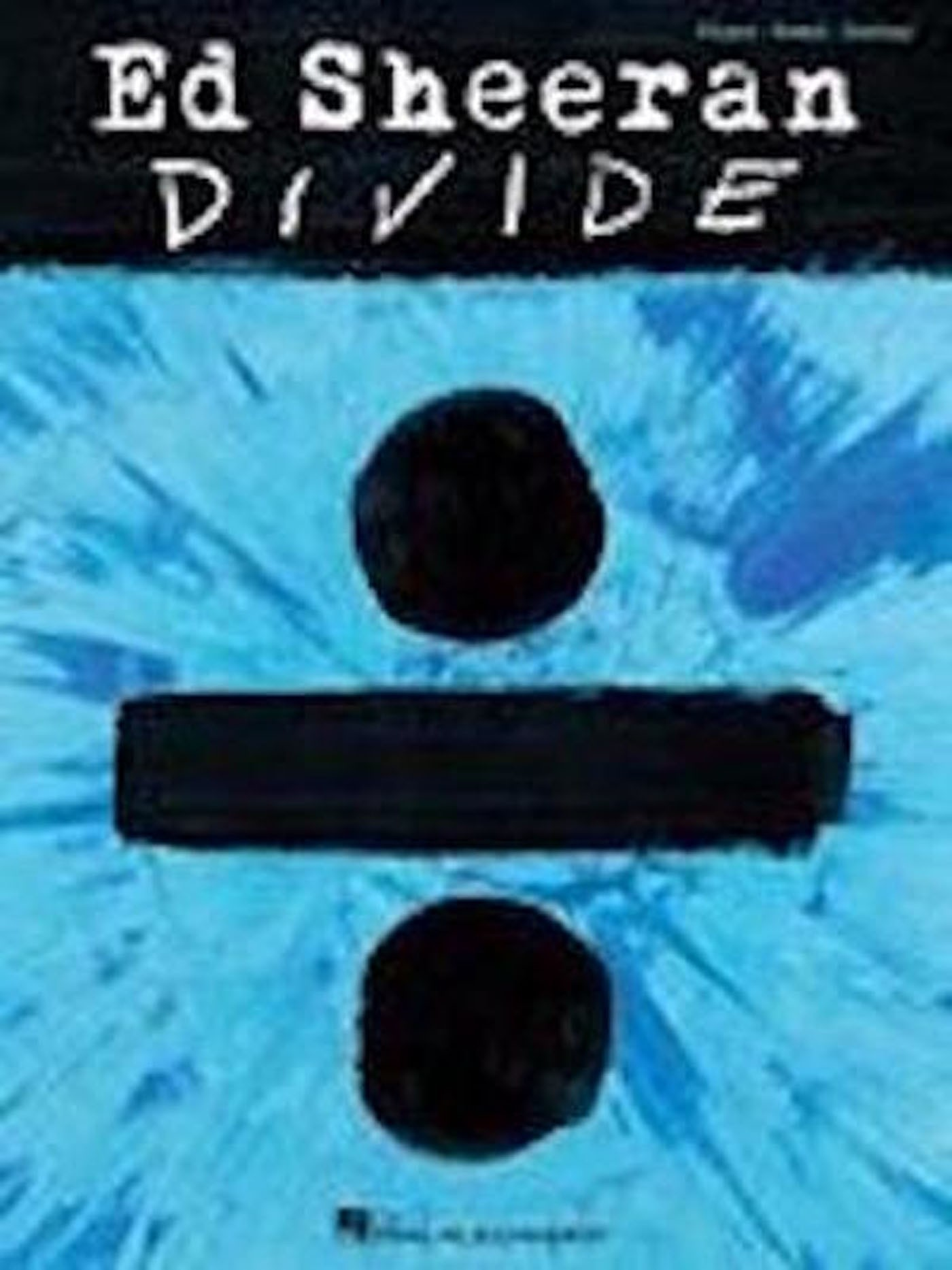 Ed Sheeran Divide Book Piano Vocal Guitar Book Shape Of You S135