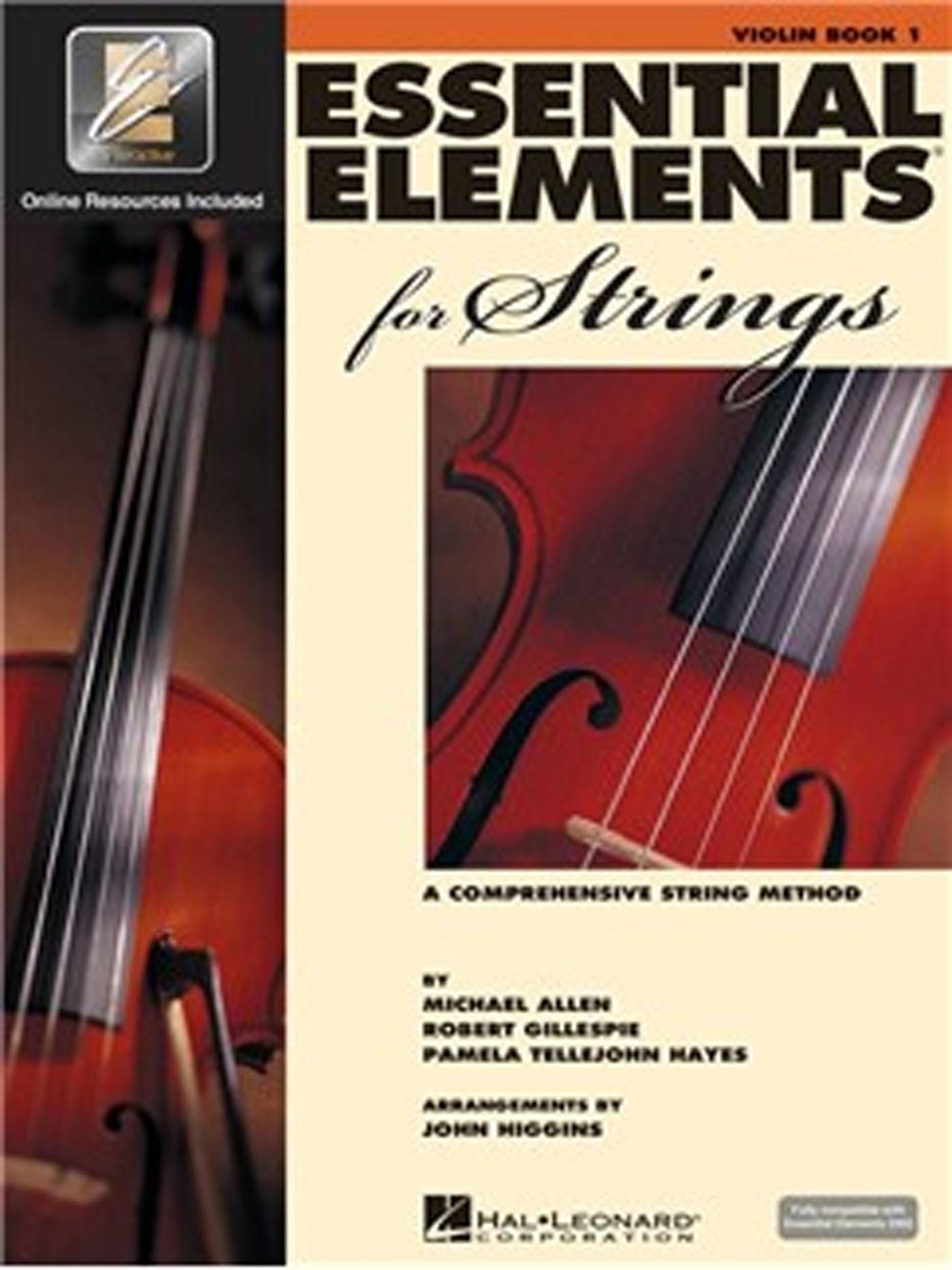 Essential Elements 2000 for Strings Violin Tutor Book 1 & CD S146