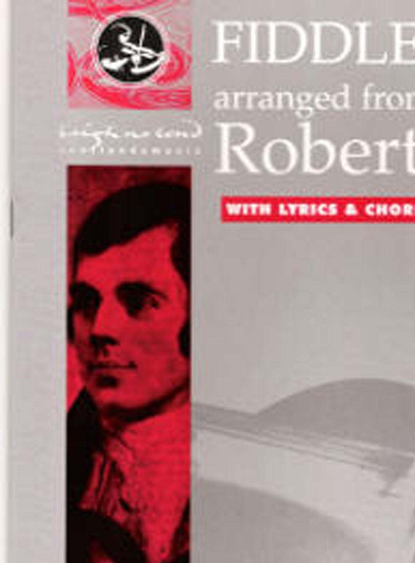 Fiddle Duets Robert Burns Songs Book & CD ScottIsh Violin Lyrics Chords S157