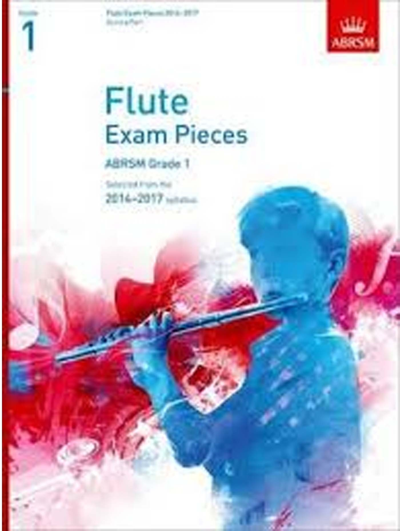Flute Exam Pieces ABRSM Grade 1 2014-2017 Score & Part Book S162