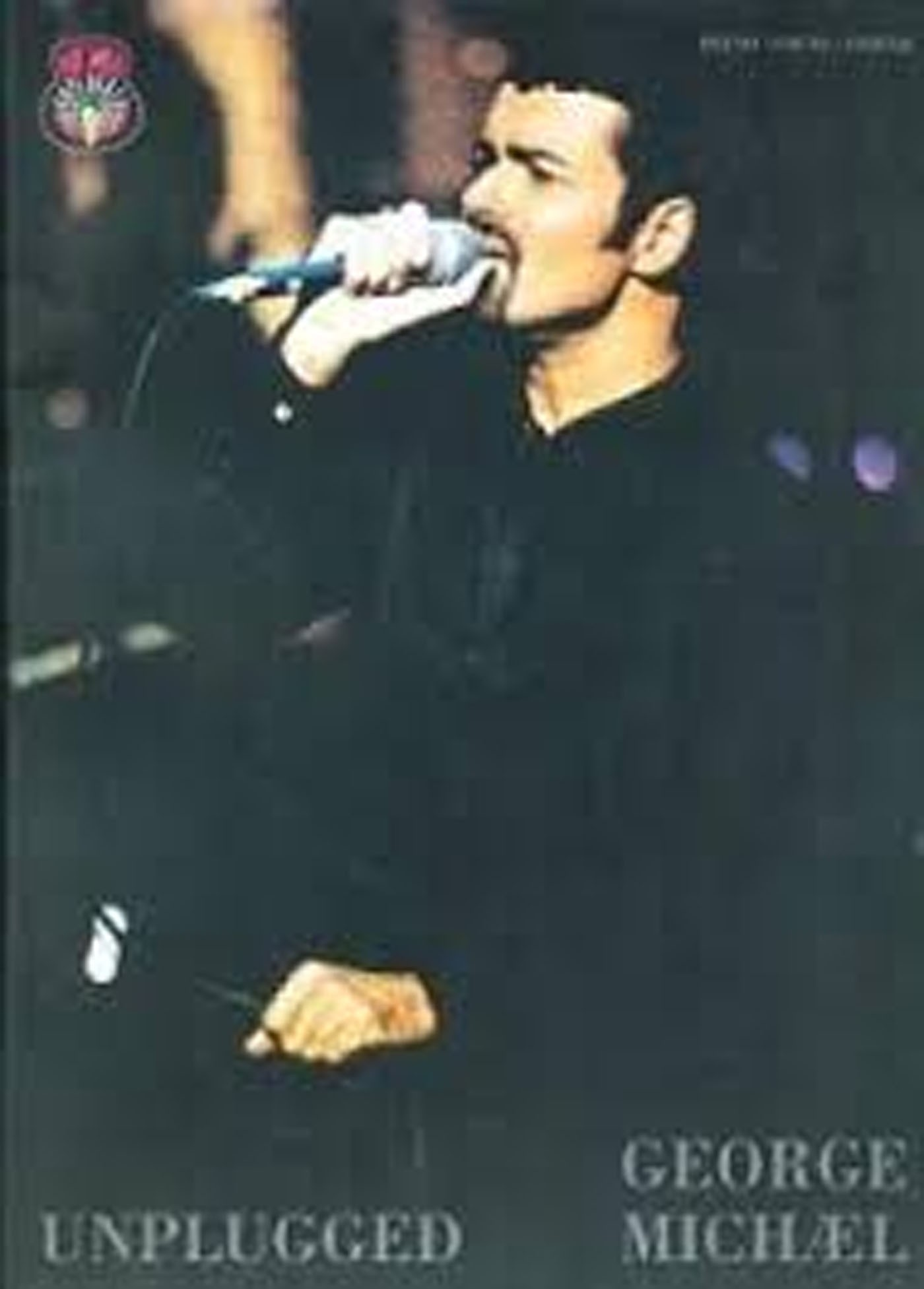 George Michael Unplugged Piano Vocal Guitar Book Classic Songs & Pictures S133